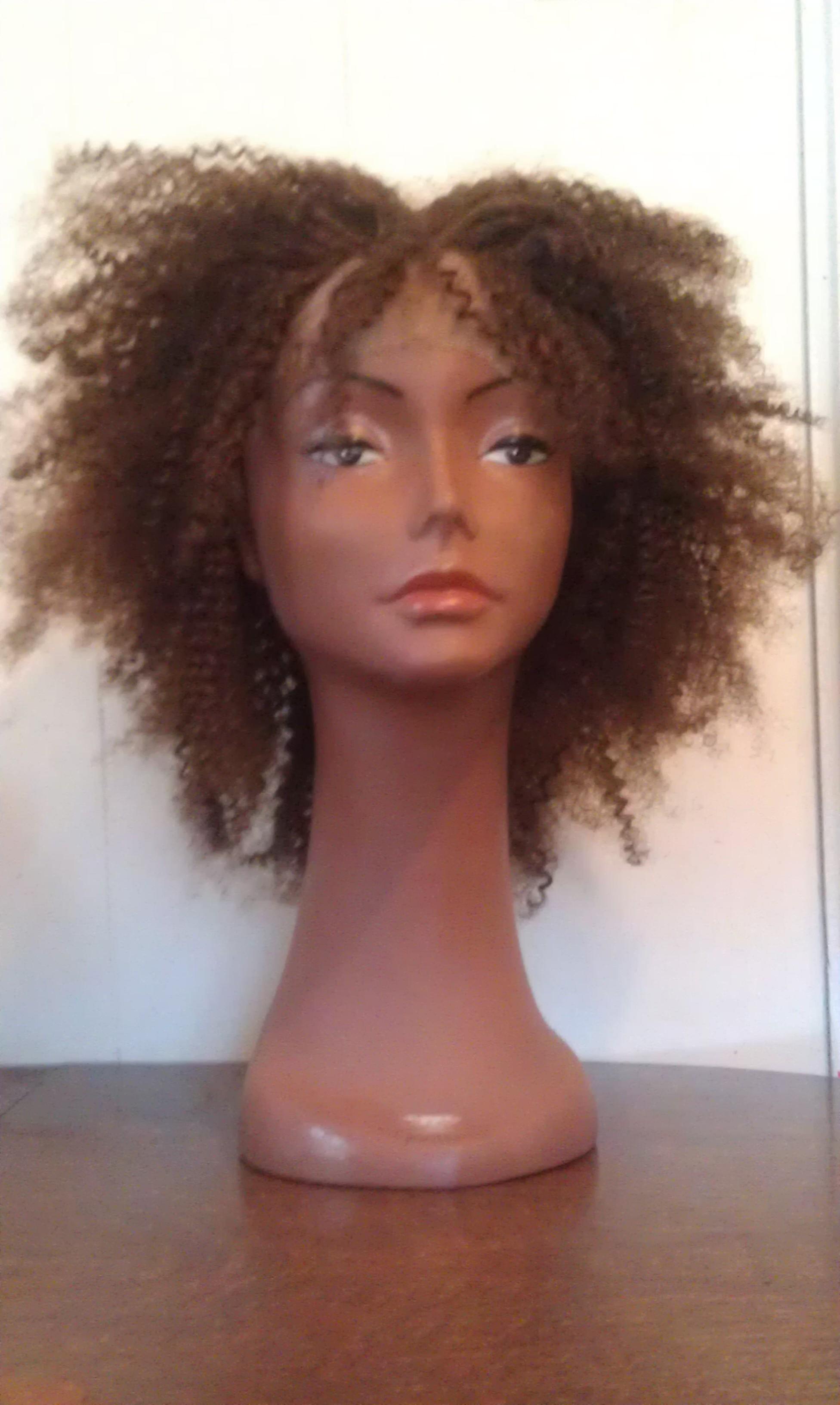 Kinky afro lace wigs by Tonika O.