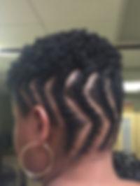 Flat twist & Curls