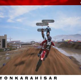 Afyonkarahisar Motokros Pisti, MXGP 2020 Resmi Oyununda