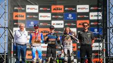 Marek ve Leok, Riola Sardo'da EMX85 ve EMX65 Avrupa Şampiyonlarını Taçlandırdı