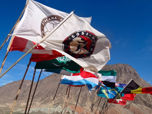 Self-supported at Sahara Race (Jordan) 2014 Spread the spirit – Overcome the challenges