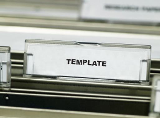 """抄 """"Template"""" 的利與弊"""