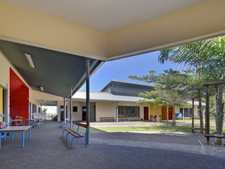 Ecole Madame Carlo, Saint-Joseph (Ile de la Réunion)