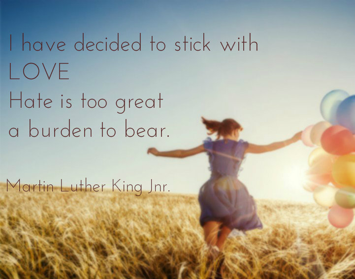 I have decided to stick with love - Quote Gallery African mummy in Deutschland