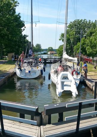 Sjötorp, Göta kanals utlopp i Vänern