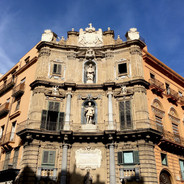 Palermo and Palazzo Abatellis with lo sfincione & u' ficatu ri sette cannola
