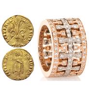 Historic Memory, Goldsmithing in Florence, braised rabbit & cardoons