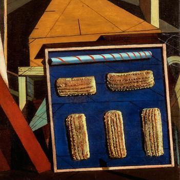 Giorgio de Chirico, Ferrara & biscotti ferrarese