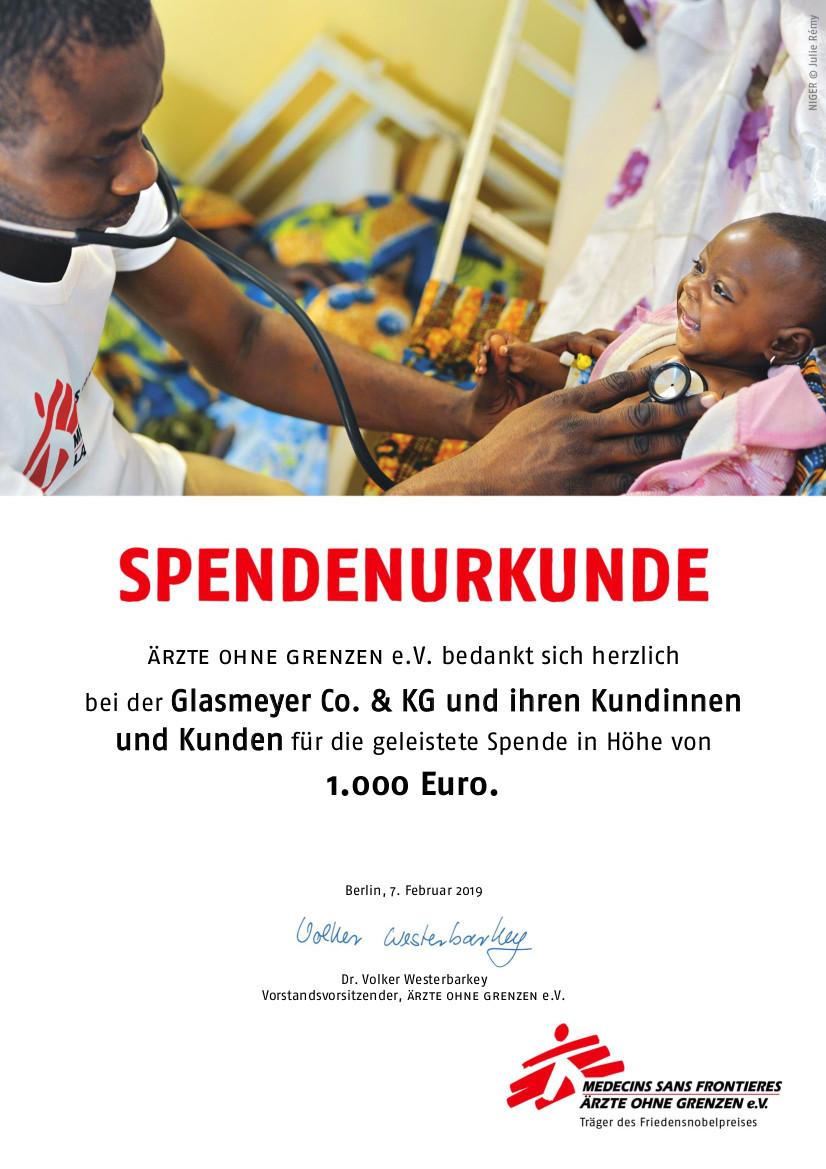 Spendenurkunde_Glasmeyer
