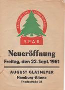 Neueröffnung 1961
