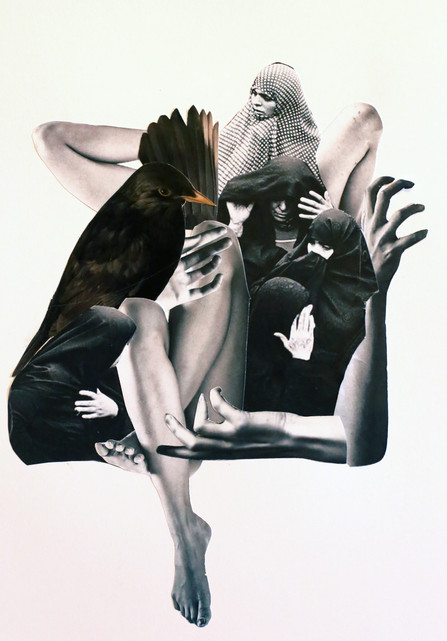 Crow_ 30x40 cm