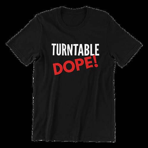 TURNTABLE DOPE TEE
