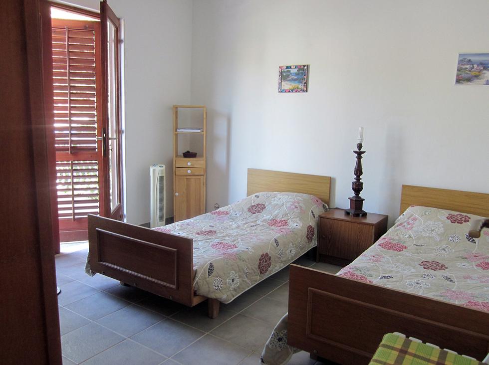 Une chambre de l'appartement