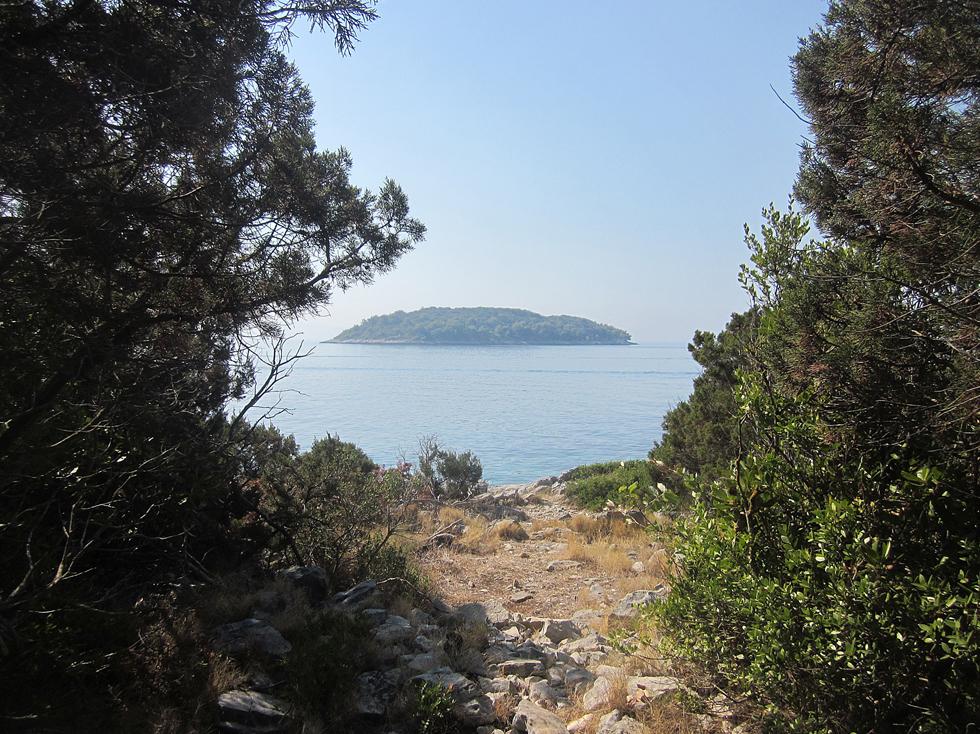 Île au bout du petit chemin