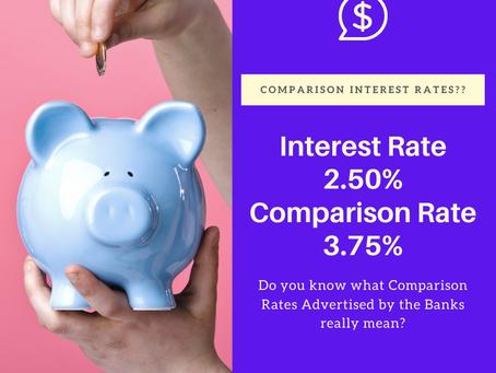 What are Comparison Interest Rates?