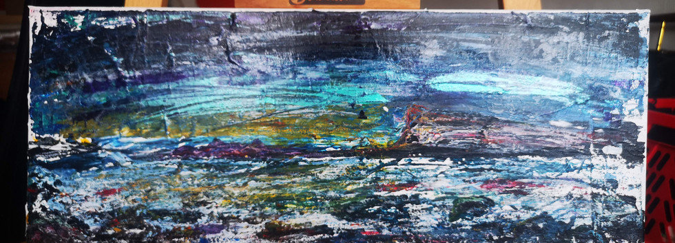 Whitby Sea Scape