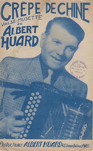 Albert Huard | Crepe de Chine | Accordeon