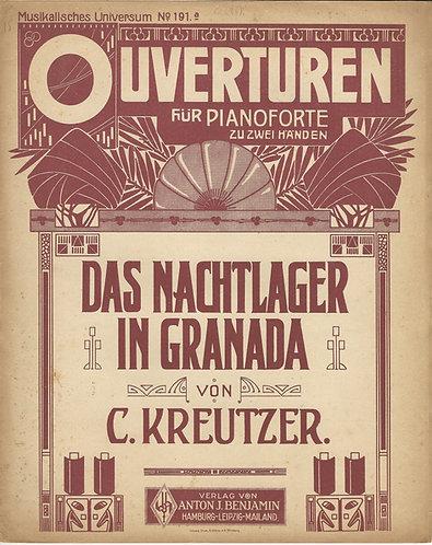 C. Kreutzer | Das Nachtlager in Granada | Piano