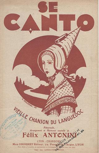 Felix Antonini | Se Canto | Chanson