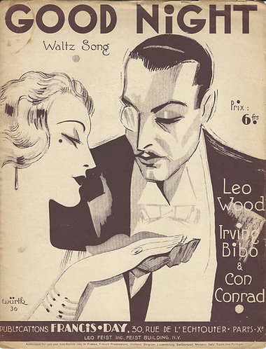Leo Wood   Irving Bibo   Good Night   Piano   Vocals