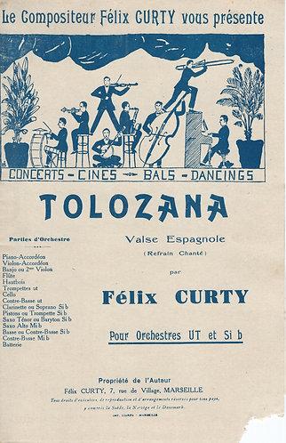 Felix Curty | Tolozana | Piano | Accordion