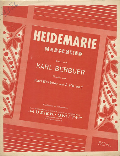 Karl Berbuer | Heidemarie | Piano | Vocals