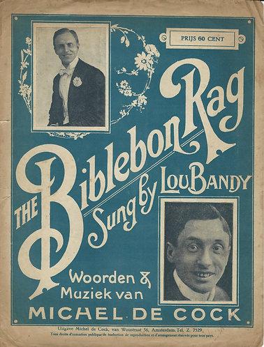 Lou Bandy   Michel de Cock   The Bibelebon Rag   Piano   Vocals