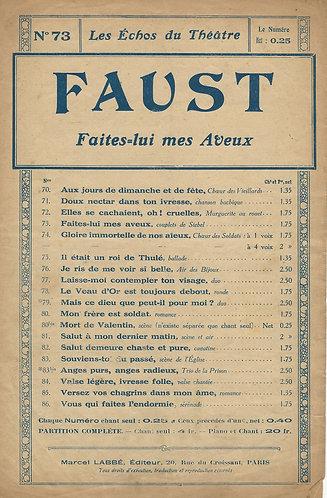 Ch. Gounod   Faites lui mes Aveux   Faust   Vocals