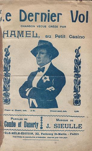 Hamel | J. Sieulle | Le Dernier Vol | Chanson