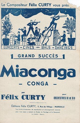 Felix Curty   Miaconga   Piano   Accordion