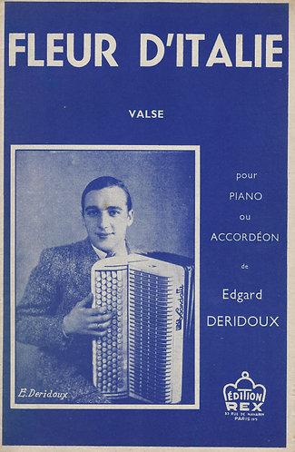 Edgard Deridoux | Fleur d'Italie | Piano | Accordion