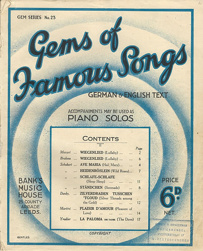 Gems of Famous Songs | Piano | Vocals