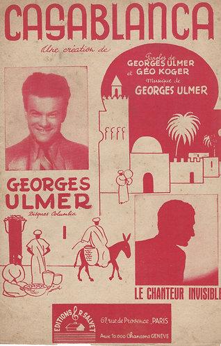 Georges Ulmer | Geo Koger | Casablanca | Chanson