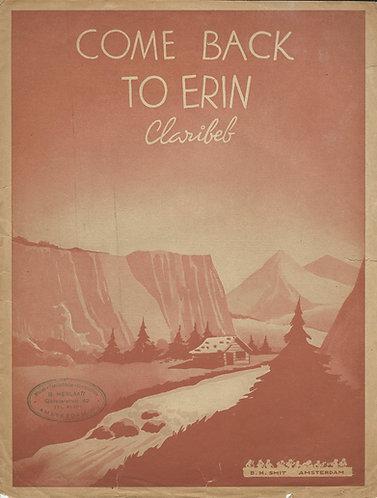 Claribeb | Come back to Erin | Piano | Vocals
