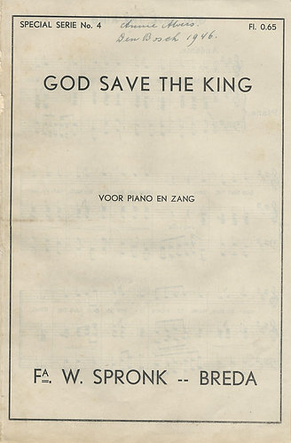 Henry Carey | God save the king | Anthem | Piano | Vocals