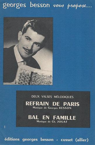 Georges Besson | Refrain de Paris | Accordion | Guitar