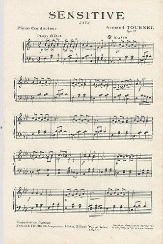 Armand Tournel | Sensitive | Piano