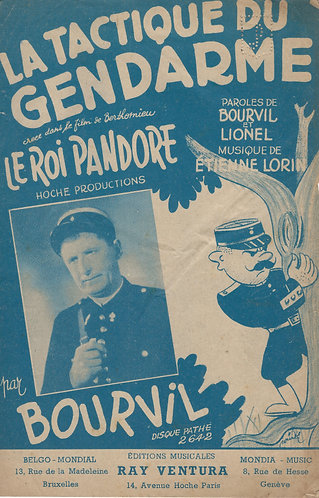 Bourvil | Etienne Lorin | Le Tactique du Gendarme | Chanson