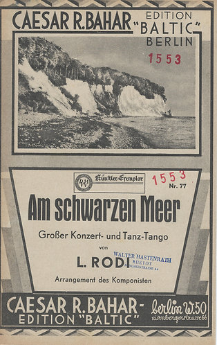 Georges Boulanger | Leo Rodi | Am schwarzen Meer | Accordion