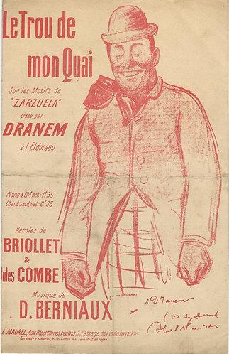 Dranem   D. Berniaux   Le Trou de mon Quai   Chanson
