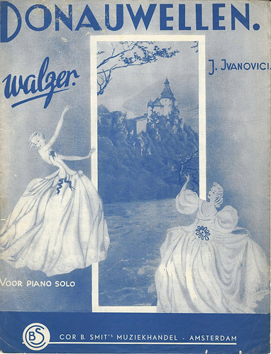 I. Ivanovici | Donauwellen | Piano | Violin