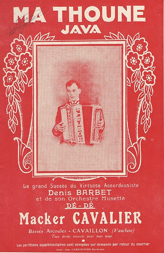 Denis Barbet | Ma Thoune | Piano