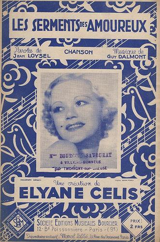 Elyane Celis | Guy Dalmont | Les Serments des Amoureux | Chanson