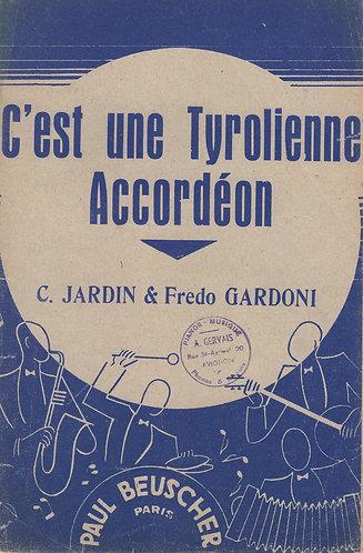 Fredo Gardoni | C. Jardin | C'est une Tyrolienne | Accordion