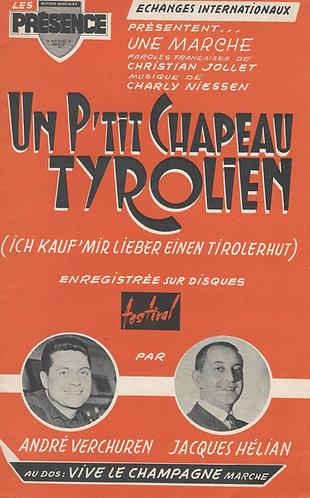 Charly Niessen | Un p'tit chapeau Tyrolien | Piano