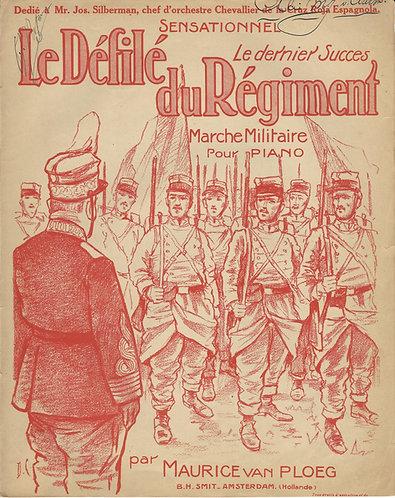 Maurice van Ploeg   Le Defile du Regiment   Piano
