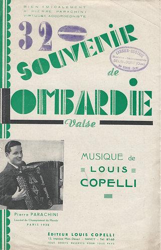 Louis Copelli | Pierre Parachini | Souvenir de Lombardie | Piano | Accordion