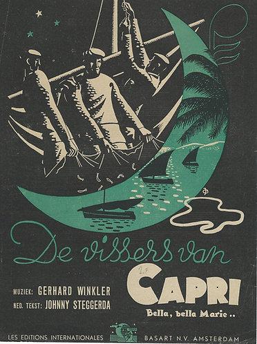 Gerhard Winkler   De vissers van Capri   Bella Bella Marie   Piano   Vocals