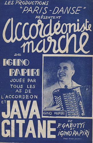 Igino Papiri | F. Gabutti | Java Gitane | Violin | Accordion