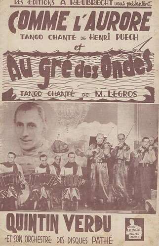 Henri Puech | M. Gersol | Comme l'Aurore | Accordion